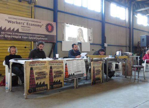 "Second Euromediterranean ""Workers' Economy"" Meeting, 10-2017"