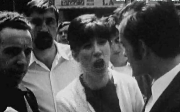 """""""La reprise du travail aux usines Wonder"""" (Frankreich 1968)"""