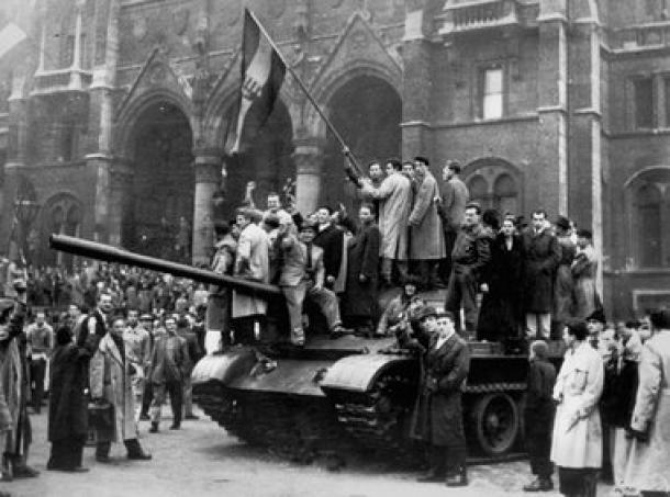 Foto [AP]: Oktober 1956 Budapest