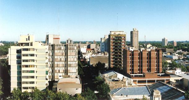 Vista de la zona céntrica de la ciudad de Junín / Q: Wikipedia