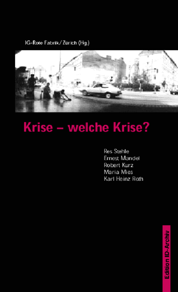 "Cover ""Krise, welche Krise?"""