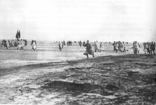 Erstürmung der Kronstadter Festung durch Rotarmisten 1921