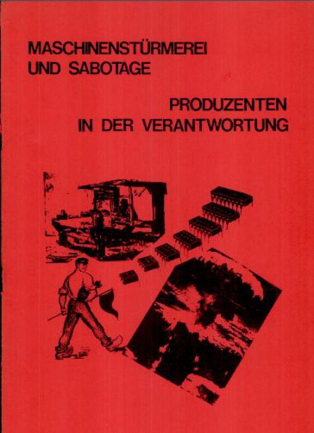 Produzenten in der Verantwortung (1988) - Cover