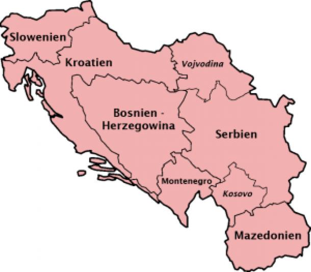 Republiken Jugoslawiens 1945-1991