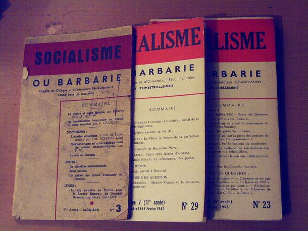 """Hefte der Zeitschrift """"Socialisme ou Barbarie"""""""