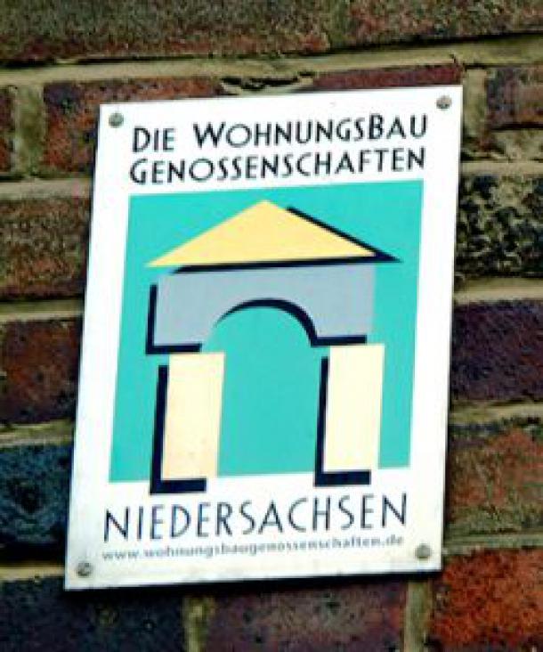 Logo der Wohungsbaugenossenschaften (Quelle: Wipipedia.de)