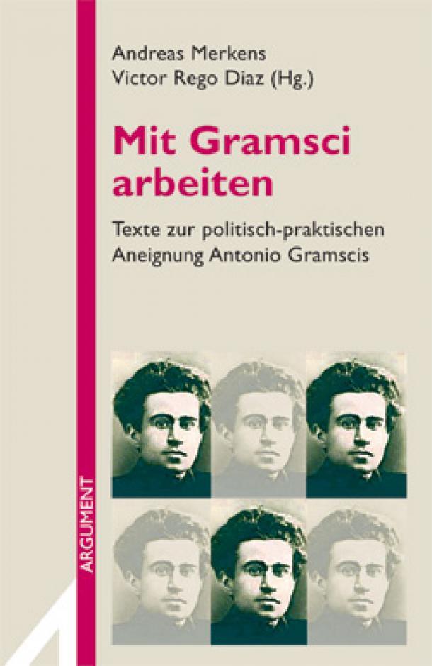 """Buchcover: """"Mit Gramsci arbeiten"""""""