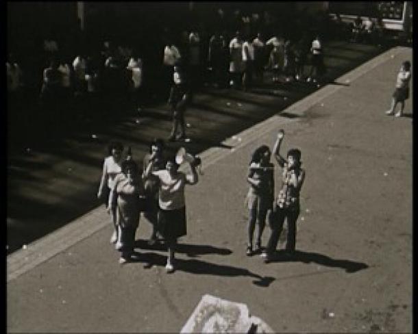 Streikende Frauen bei Pierburg/Neuss im August 1973, von: Schmidt/Wittenberg.