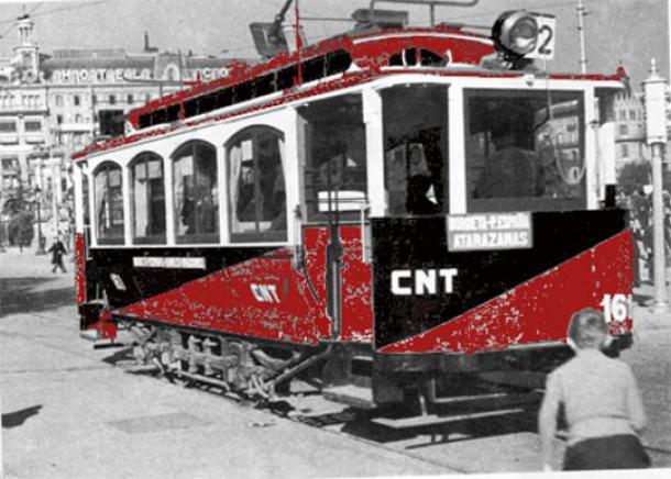 Εργατική διαχείριση στο Δημόσιο Σύστημα Μεταφορών, 1936-1939 στη Βαρκελώνη