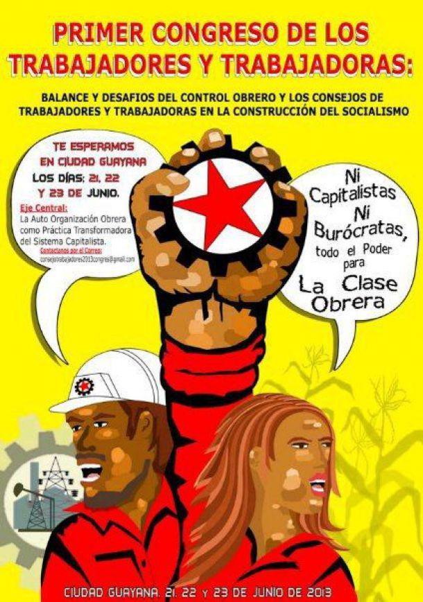 I CONGRESO DE TRABAJADORES Y TRABAJADORAS