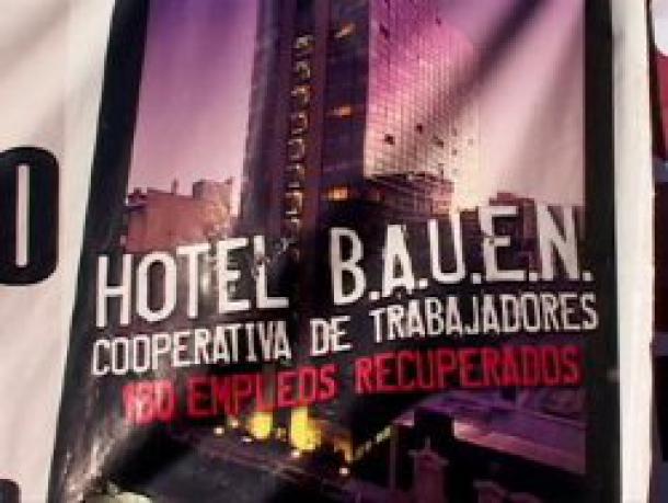 15 et 16 avril : Solidarité avec les travailleurs de l'Hôtel Bauen, Buenos Aires