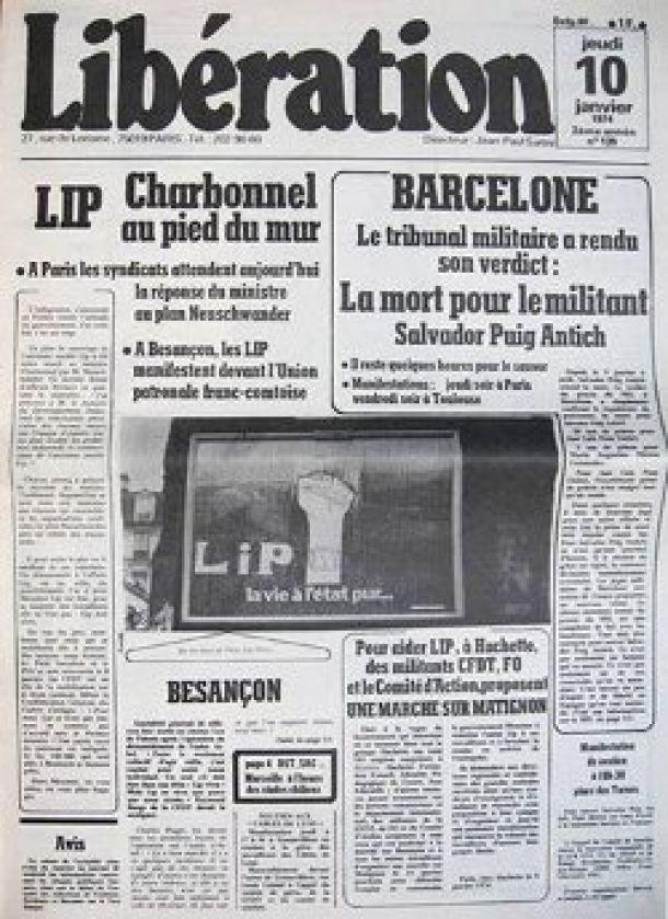 LIP, 29 janvier 1974, les accords de Dole