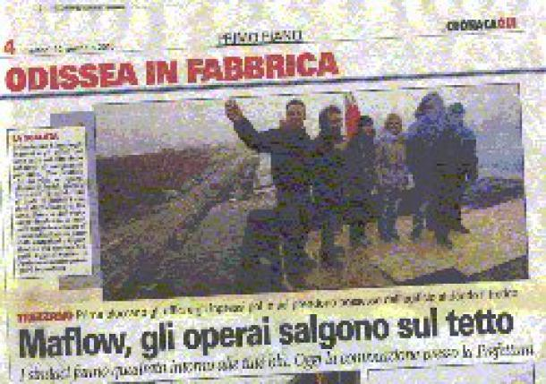 A Maflow Trezzano, l'utopie devient réalité : les travailleurs font renaître l'entreprise « sans patron »