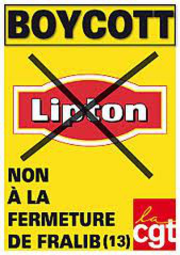 Fralib : Occupation de l'usine par les salariés