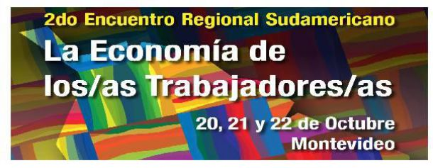 """2° Encontro regional Sul Americano """"A Economia dos(as) Trabalhadores(as)"""""""