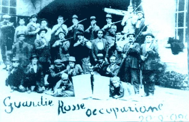 1918-1921: The Italian factory occupations and Biennio Rosso