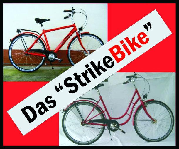Strike Bike: an occupied factory in Germany